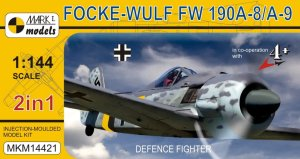 MARK I 14421 - 1:144 Focke Wulf Fw 190A-8/A-9 - Defence Fighter