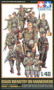 TAMIYA 32530 - 1:48 German Infantry on Maneuver