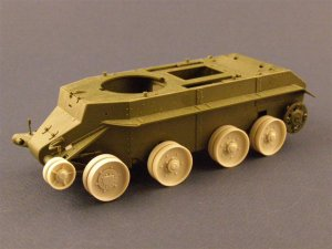 PANZERART 35016 - 1:35 Burn out Wheels for BT-7 Tank