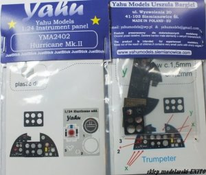 YAHU YMA2402 - 1:24 Hurricane Mk.II - Instrument Panel