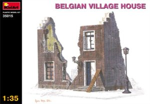 MINIART 35015 - 1:35 Belgian Village House