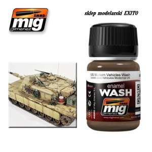 AMMO MIG 1007 - US Modern Vehicles Wash