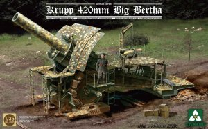 TAKOM 2035 - 1:35 Krupp 420mm Big Bertha