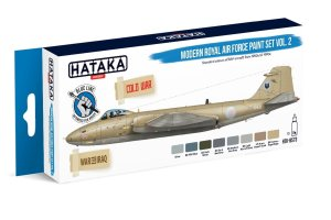 HATAKA BS73 - Modern Royal Air Force paint set vol. 2