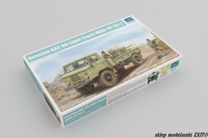 TRUMPETER 01017 - 1:35 Russian GAZ-66 Light Truck with ZU-23-2