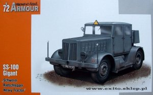 SPECIAL HOBBY A72001 - 1:72 SS-100 Schwerer Radschlepper / Heavy Tractor