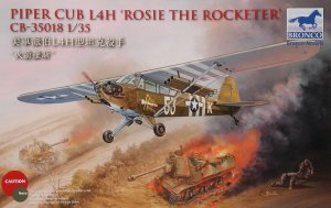 BRONCO CB 35018 - 1:35 Piper Cub L4H Rosie The Rocketeer