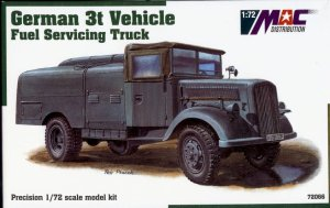 MAC 72066 - 1:72 Opel Blitz 3t Fuel Servicing Truck