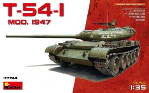 MINIART 37014 - 1:35 T-54-1 Mod.1947 Soviet Medium Tank