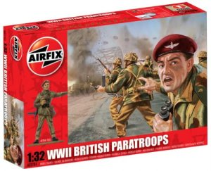 AIRFIX 02701 - 1:32 British Paratroops