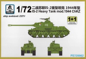 S-MODEL PS720062 - 1:72 IS-2 Heavy Tank mod.1944 Chkz