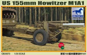 BRONCO CB 35073 - 1:35 US M1A1 155mm Howitzer