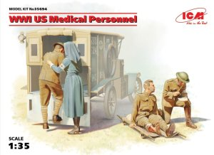 ICM 35694 - 1:35 WWI US Medical Personnel