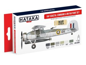 HATAKA AS49 - RAF Coastal Command & RN FAA paint set