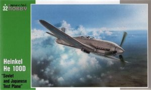SPECIAL HOBBY 32045 - 1:32 Heinkel He 100 D Soviet and Japanese test plane