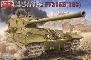 AMUSING HOBBY 35A008 - 1:35 FV215B (183) British Tank Destroyer