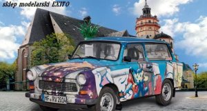 REVELL 02014 - 1:24 Trabant 601S Universal 25th anniversary of the fall of the Berlin wall - Limited Edition
