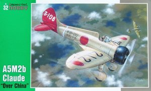SPECIAL HOBBY 32034 - 1:32 Mitsubishi A5M2b Claude Over China