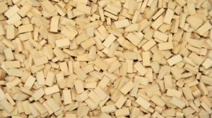 JUWEELA 28036 - 1:87 Bricks light beige 3000 pcs