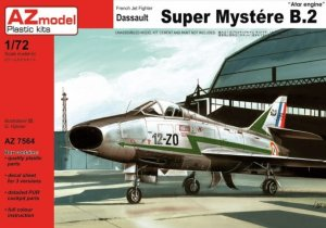 AZ MODEL AZ 7564 - 1:72 Dassault Super Mystere B.2 Atar engine
