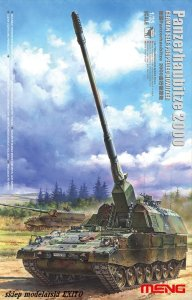 MENG MODEL TS012 - 1:35 German Panzerhaubitze 2000 Self-Propelled Howitzer