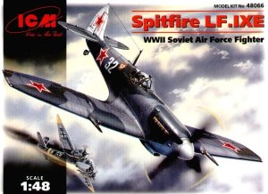 ICM 48066 - 1:48 Supermarine Spitfire LF.IX, USSR Air Force Fighter