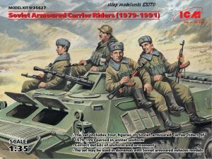 ICM 35637 - 1:35 Soviet Armored Carrier Riders (1979-1991)