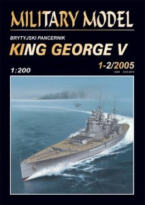 HALIŃSKI S026 - 1:200 HMS King George V
