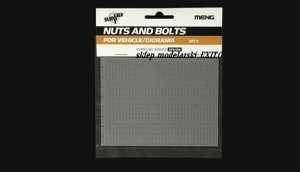 MENG MODEL SPS008 - Nuts and Bolts for Vehicle / Diorama - Set C