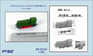 NIKO MODEL ZW3513G - 1:350 German Diesel Locomotive WR 360 C 14