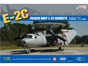 KINETIC 48015 - 1:48 E-2C Hawkeye French Navy