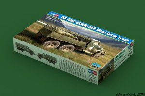 HOBBY BOSS 83832 - 1:35 US GMC CCKW-352 Wood Cargo Truck