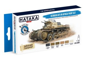HATAKA BS90 - German AFV in Africa paint set