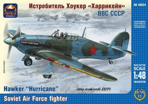 ARK MODELS 48024 - 1:48 Hawker Hurricane British fighter the Soviet Air Forces