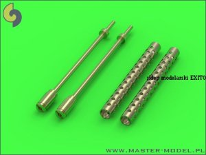 MASTER GM-35-004 - 1:35 Browning M1919 .30 cal machine gun barrels