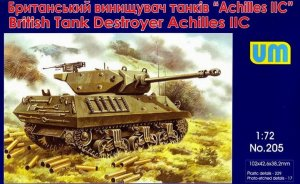 UNIMODELS 205 - 1:72 British Tank Destroyer Achilles IIC