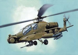 MIRAGE 72052 - 1:72 AH-64 A Apache IFOR