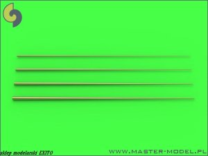 MASTER 700-047 - 1:700 Set of universal tapered masts No1 (length = 60mm each, diameters = 0,15/0,6mm; 0,2/0,8mm; 0,25/1mm; 0,3/1,2mm)