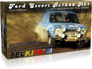 BELKITS 006 - 1:24 Ford Escort RS1600 MKI - Timo Makinen Winner Daily Mirror RAC Rally 1973