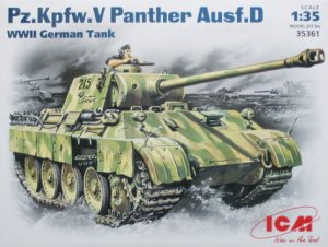 ICM 35361 - 1:35 Pz.Kpfw.V Panther Ausf.D, WWII German Tank