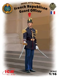ICM 16004 - 1:16 French Republican Guard Officer