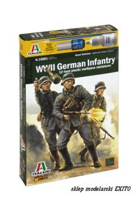 ITALERI 15601 - 1:56 WWII German Infantry