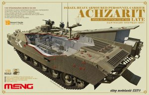 MENG MODEL SS008 - 1:35 Achzarit - Israel Heavy Armoured Personnel Carrier (late)