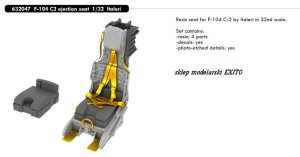 EDUARD 632047 - 1:32 F-104 C2 ejection seat