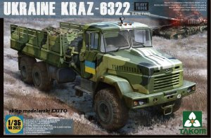 TAKOM 2022 - 1:35 Ukraine KRAZ-6322 Late Type