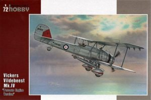 SPECIAL HOBBY 72243 - 1:72 Vickers Vildebeest - Perseus engine version