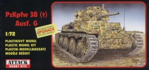 ATTACK 72803 - 1:72 PzKpfw 38(t) Ausf. G