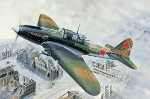 HOBBY BOSS 83203 - 1:32 Ilyushin IL-2M Ground attak aircraft