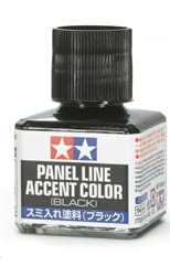 TAMIYA 87131 - Panel Accent Color - Black