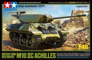 TAMIYA 32582 - 1:48 British Tank Destroyer M10 IIC Achilles